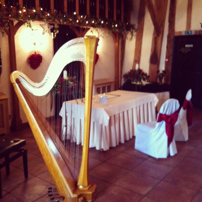 A wonderful Christmas wedding at Crabbs Barn in Kelvedon