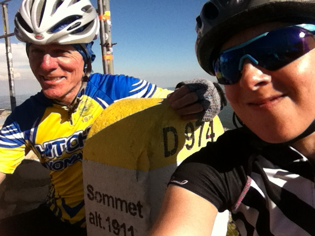 Mont Ventoux with my dad, 2014