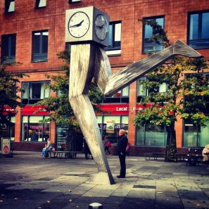 The Clyde Clock (or the Running Man as he is to me)