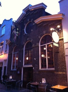 A former brandy distillery in Leiden, scene of a brilliant gig I played at