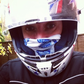 Thanks to Bob Scott Bikes in Glenrothes for the suspension work on my GSXR750 that led to this happy face!