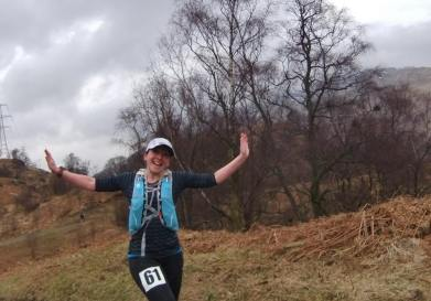 thanks to Fiona Rennie for this picture from the 2015 Loch Katrine marathon