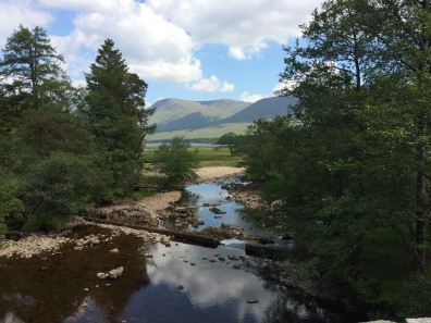 From Victoria Bridge, Inveroran, West Highland Way