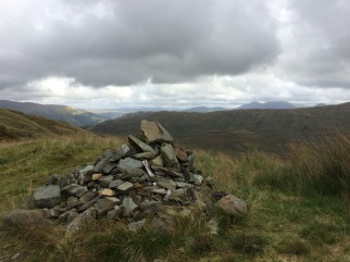 Looking north from the cairn